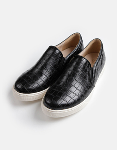 Snake Pattern Slip on